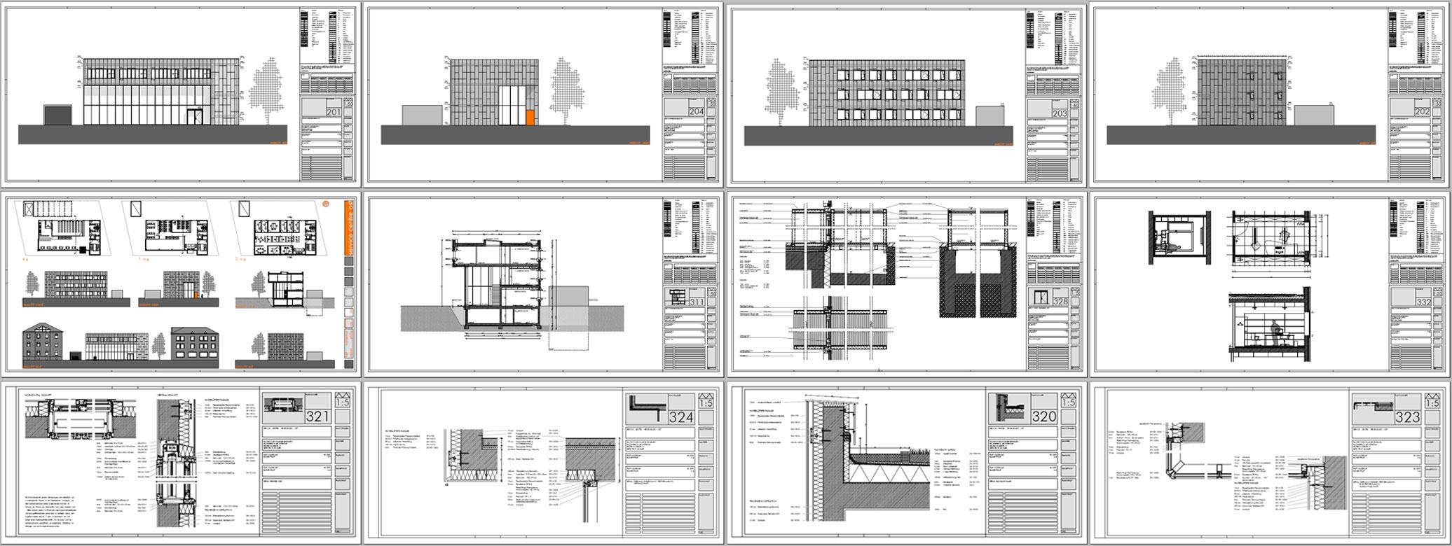 Baukonstruktion gebäudetechnik 2oo5 regensburg
